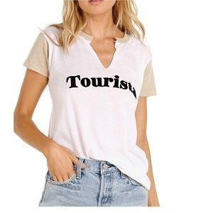 NWT Wildfox Tourista Woody Graphic Tee